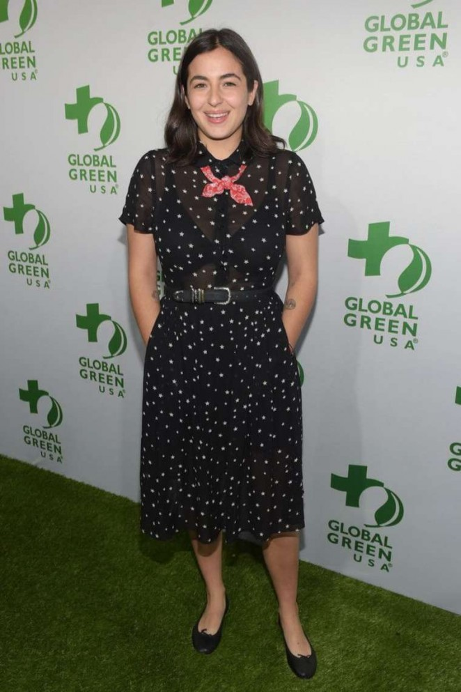 Alanna Masterson - Global Green USA 2015 Pre-Oscar Party in LA