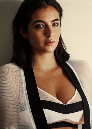 Alanna Masterson - Interview Magazine (S/S 2015)