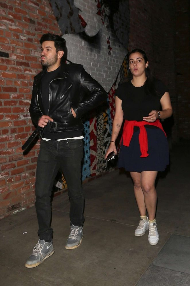 Alanna Masterson – Leaving TAO in Hollywood