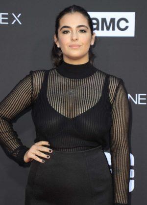 Alanna Masterson- 'The Walking Dead' 100th Episode Premiere and Party in LA