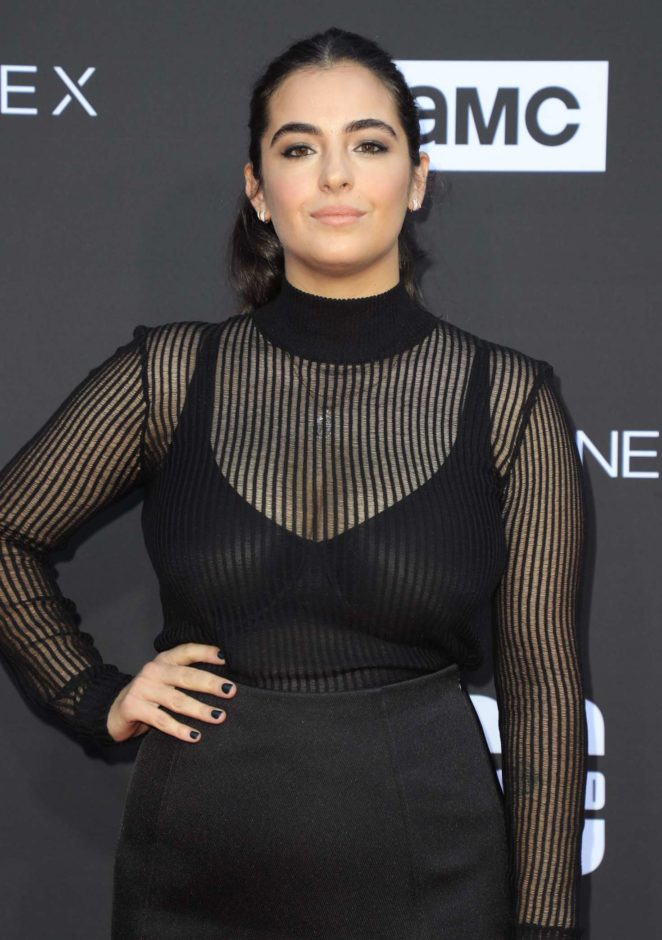 Alanna Masterson- 'The Walking Dead' 100th Episode Premiere and Party in LA