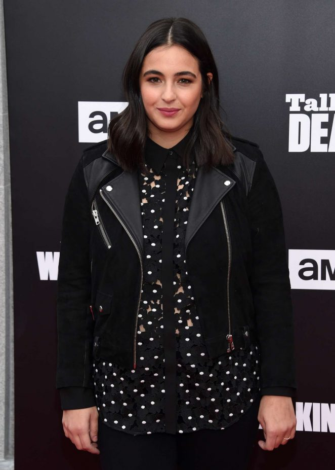 Alanna Masterson - 'The Walking Dead' Season 7 Premiere