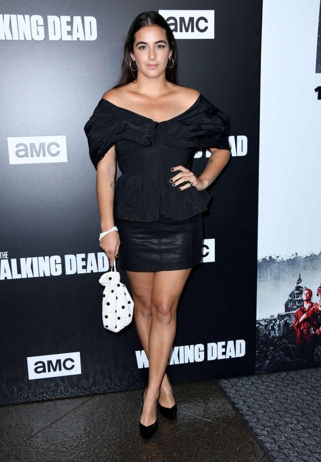 Alanna Masterson – 'The Walking Dead' TV Show Screening in LA
