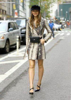 Alannah Walton - Victoria's Secret office in New York
