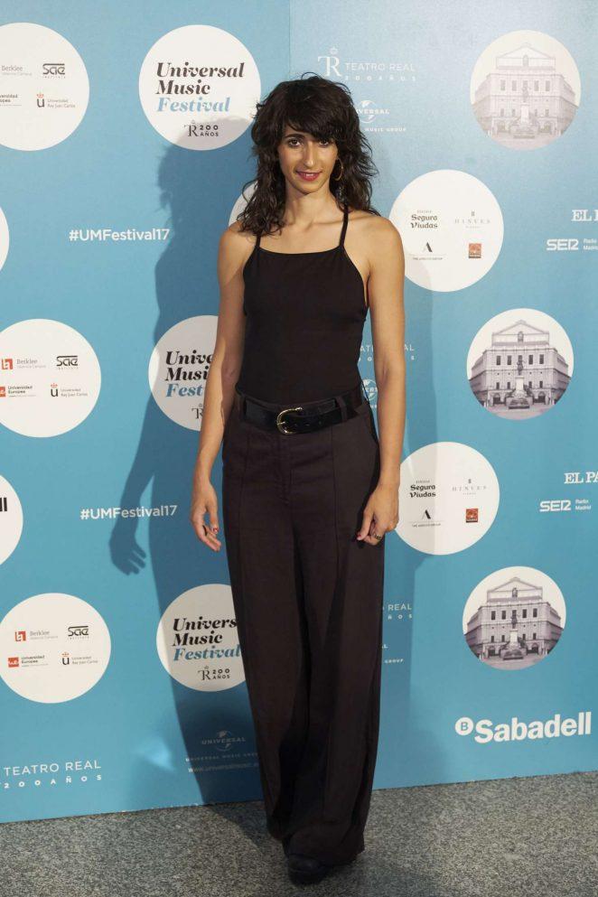 Alba Flores - Universal Music Festival 2017 in Madrid