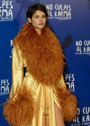 Alba Galocha - 'No Culpes al Karma' Premiere in Madrid
