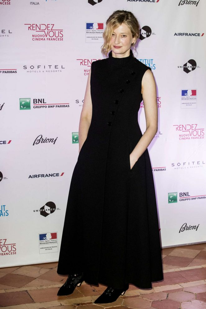 Alba Rohrwacher - Opening of French Cinema Festival 'Rendez-Vous' in Rome