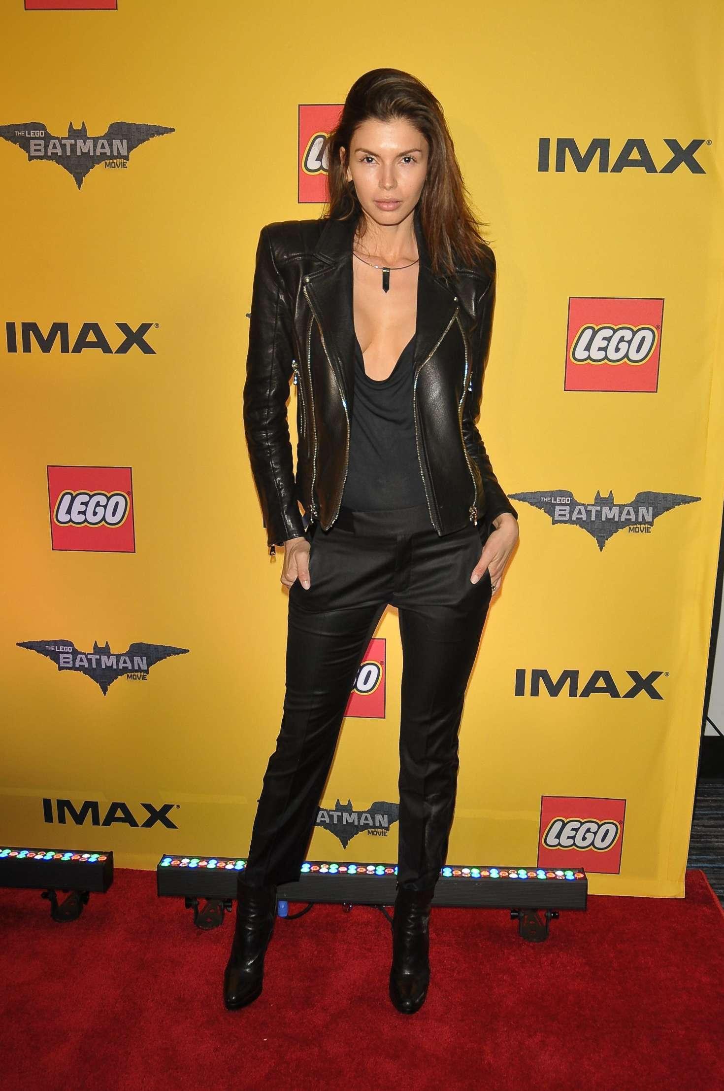 Alejandra Cata – 'The Lego Batman Movie' Screening in New York