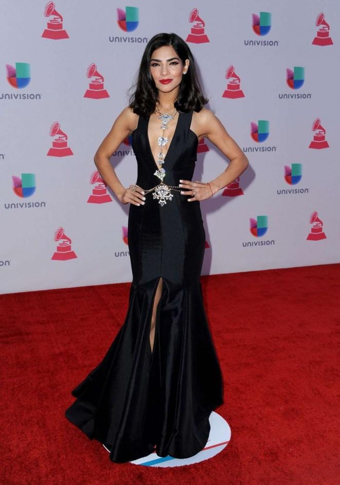 Alejandra Espinoza - 2015 Latin Grammy Awards in Las Vegas