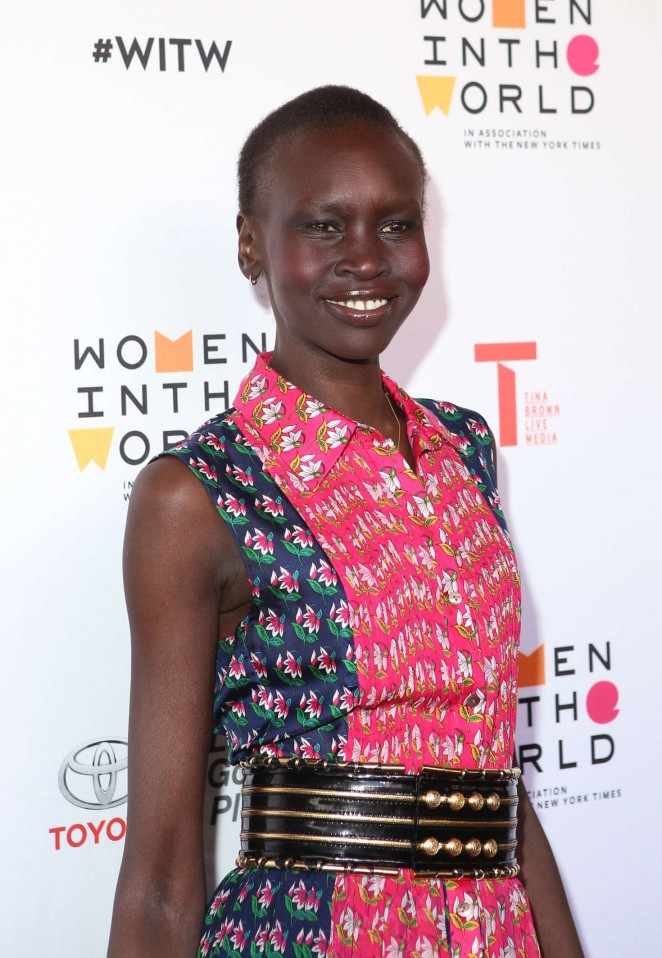 Alek Wek - Women in the World's 7th Annual Summit Opening Night in NY