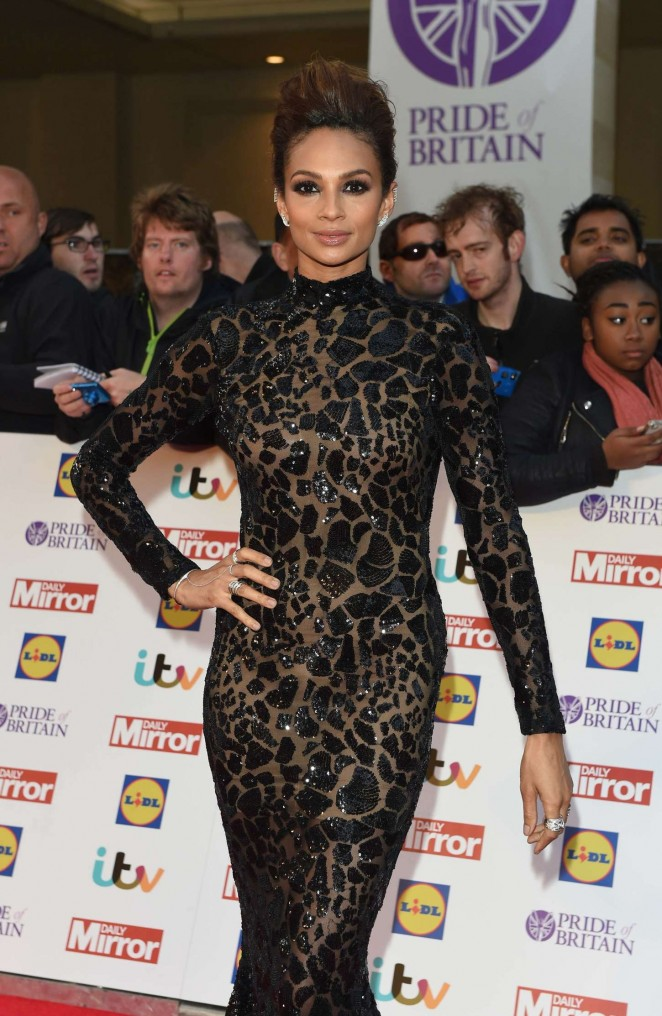 Alesha Dixon - 2015 Pride of Britain Awards in London