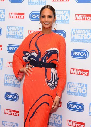 Alesha Dixon - 2016 Daily Mirror and RSPCA Animal Hero Awards in London