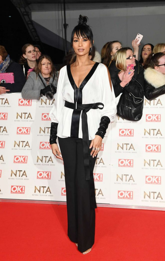 Alesha Dixon - 2017 National Television Awards in London