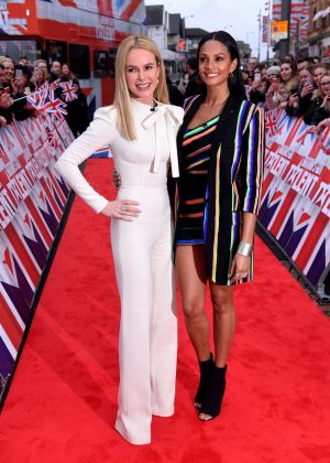 Alesha Dixon and Amanda Holden - Britain's Got Talent Photocall in London