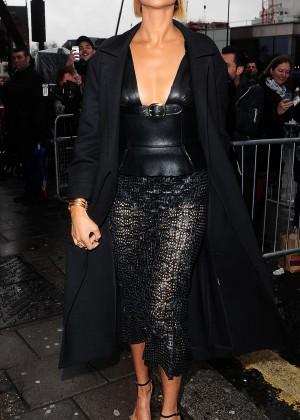Alesha Dixon - Arriving at Britains Got Talent Auditions in London