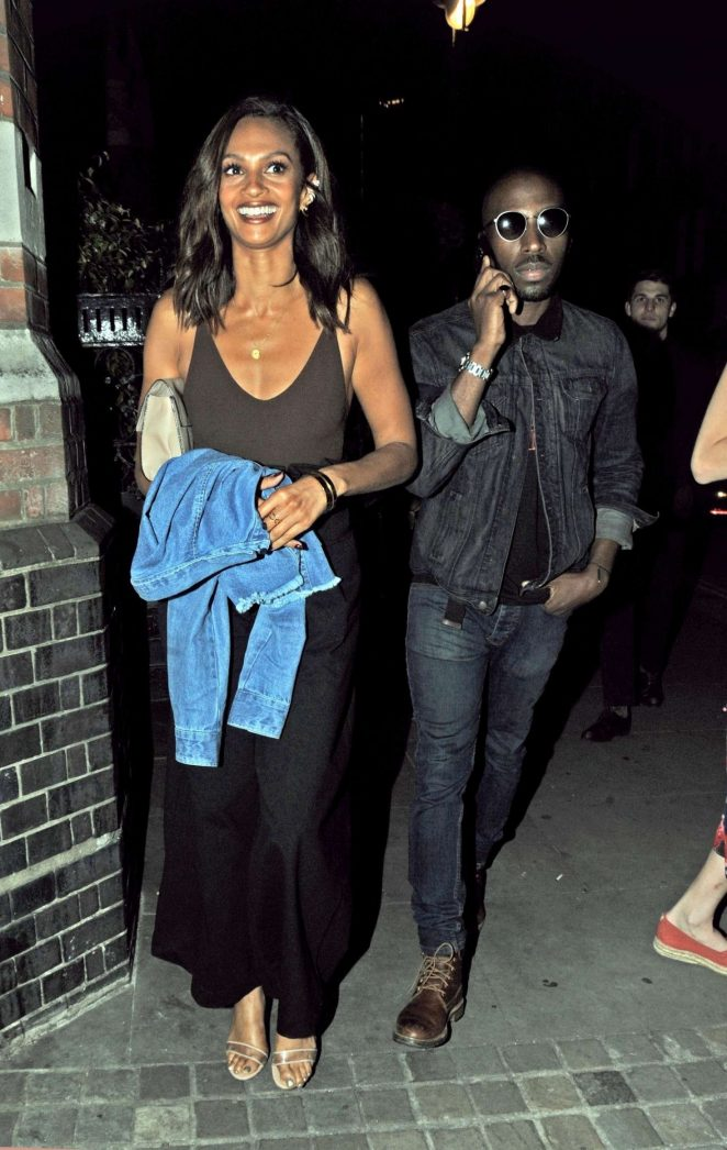 Alesha Dixon at Chiltern Firehouse in London