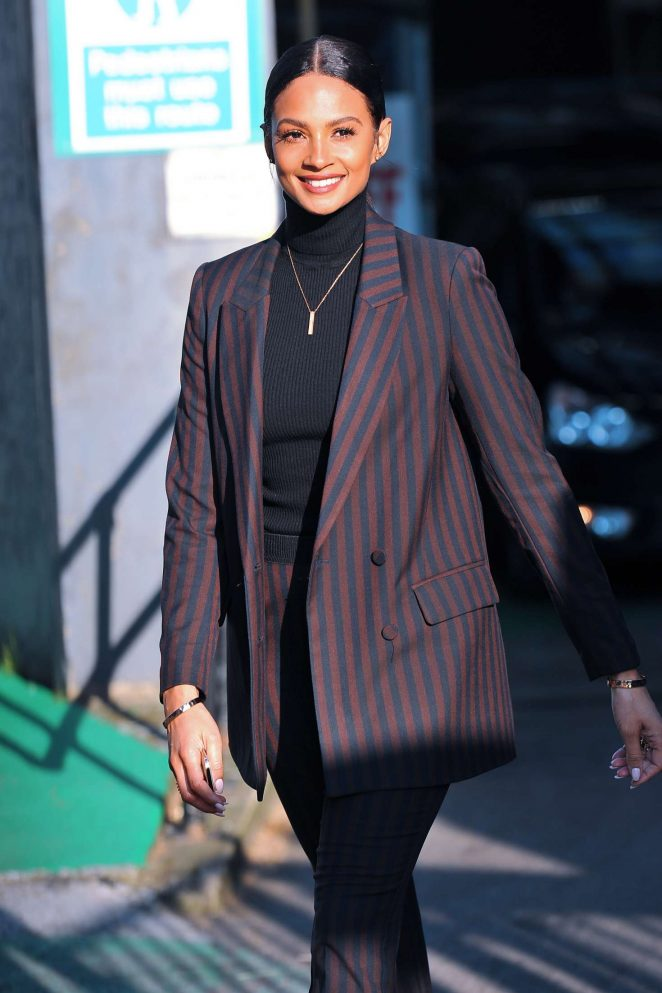 Alesha Dixon at ITV This Morning Studios in London
