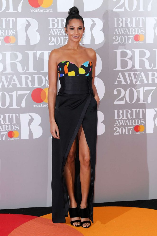 Alesha Dixon - BRIT Awards 2017 in London