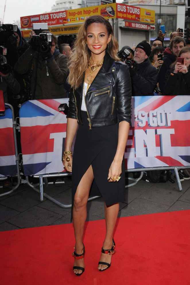 Alesha Dixon - Britain's Got Talent Auditions in London