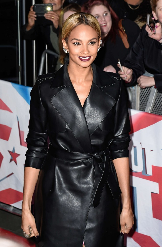 Alesha Dixon - Britains Got Talent in Birmingham