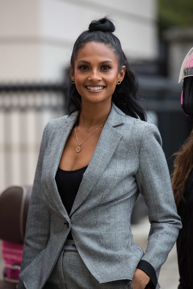 Alesha Dixon - Celebrates being the ambassador of the newly re-launched Debenhams Beauty Club in London