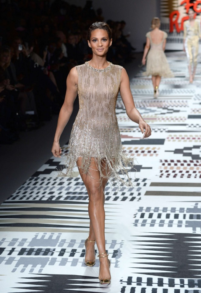 Alesha Dixon: Fashion For Relief Charity Fashion Show 2015 -06