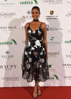 Alesha Dixon - Global Gift Gala in Marbella