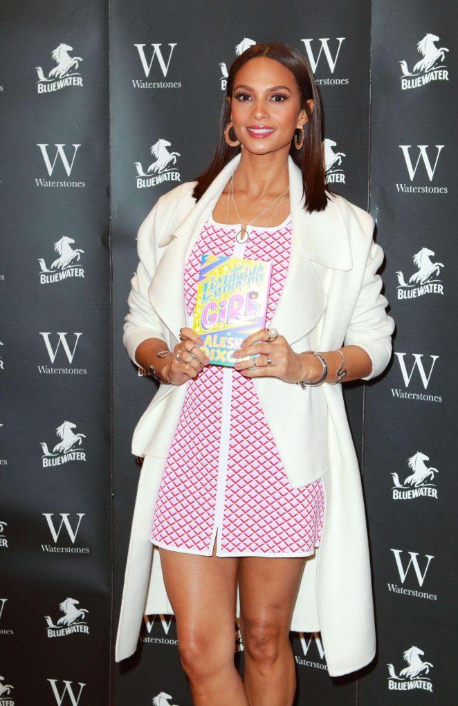 Alesha Dixon - Lightning Girl Book Signing in Dartford