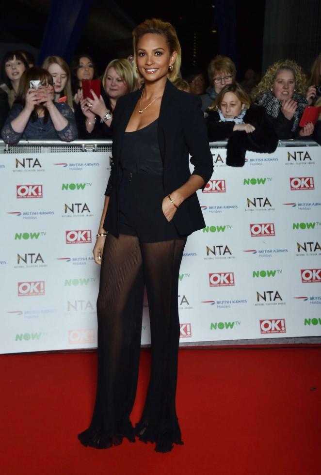 Alesha Dixon: National Television Awards 2016 -01