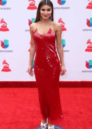 Aleska Catellano - 2017 Latin Grammy Awards in Las Vegas