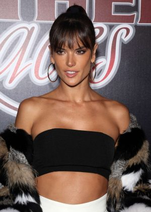 Alessandra Ambrosio - 14th Annual Leather & Laces Saturday Night in Houston