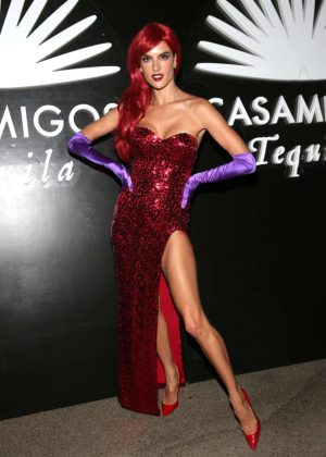 Alessandra Ambrosio - 2016 Casamigos Tequila Halloween Party in Beverly Hills