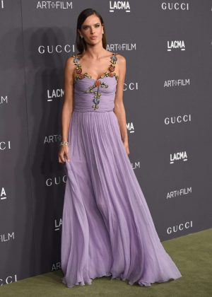 Alessandra Ambrosio - 2016 LACMA Art and Film Gala in Los Angeles