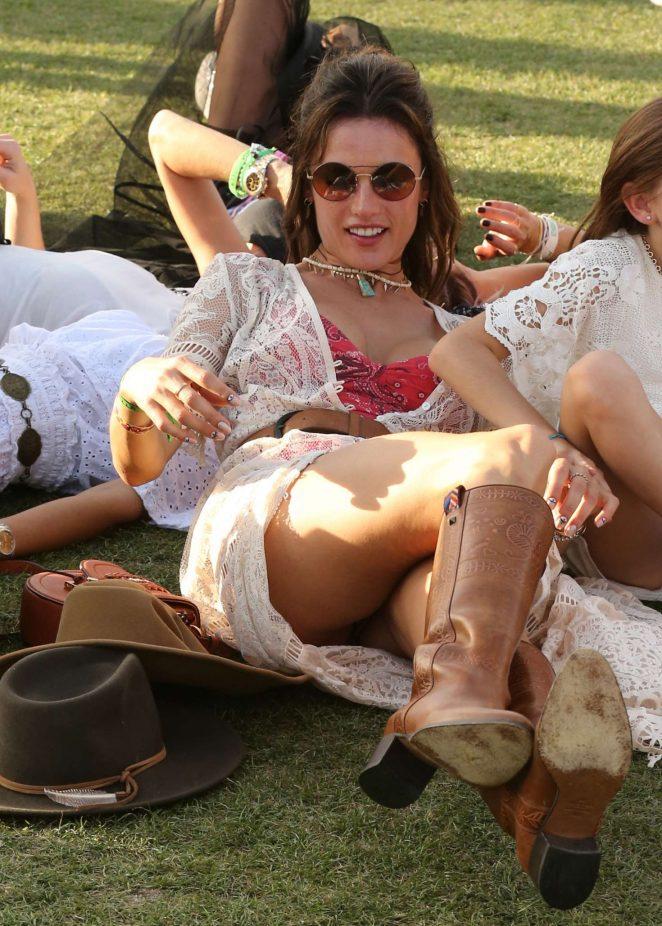 Alessandra Ambrosio - 2017 Coachella in Indio