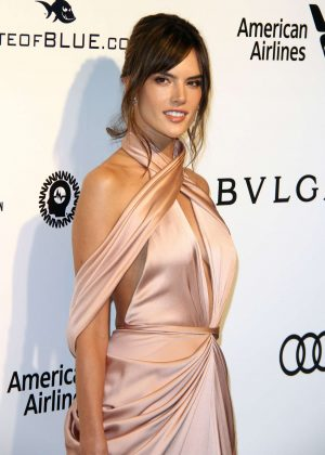 Alessandra Ambrosio - 2017 Elton John AIDS Foundation's Oscar Viewing Party in West Hollywood