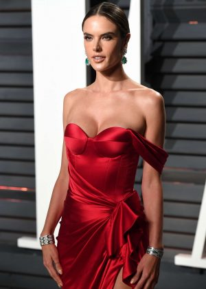 Alessandra Ambrosio – 2017 Vanity Fair Oscar Party in Hollywood