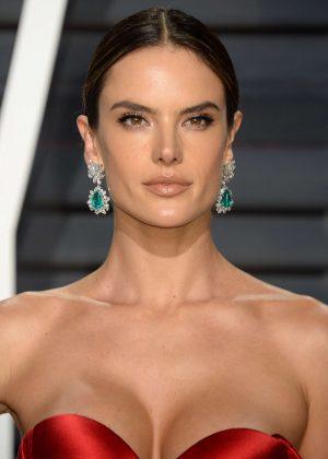 Alessandra Ambrosio - 2017 Vanity Fair Oscar Party in ...  Alessandra Ambrosio