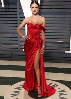 Alessandra Ambrosio - 2017 Vanity Fair Oscar Party in Hollywood