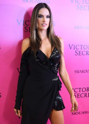 Alessandra Ambrosio - 2017 Victoria's Secret Fashion Show After Party in Shanghai