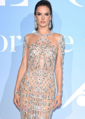 Alessandra Ambrosio - 2018 Gala for the Global Ocean in Monte-Carlo
