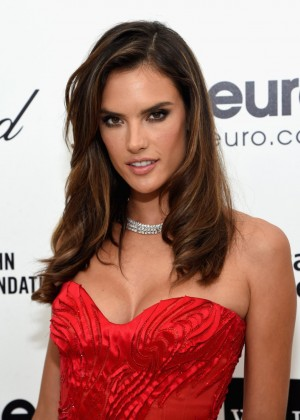 Alessandra Ambrosio - Oscars 2015 - Elton John AIDS Foundation Academy Awards Party