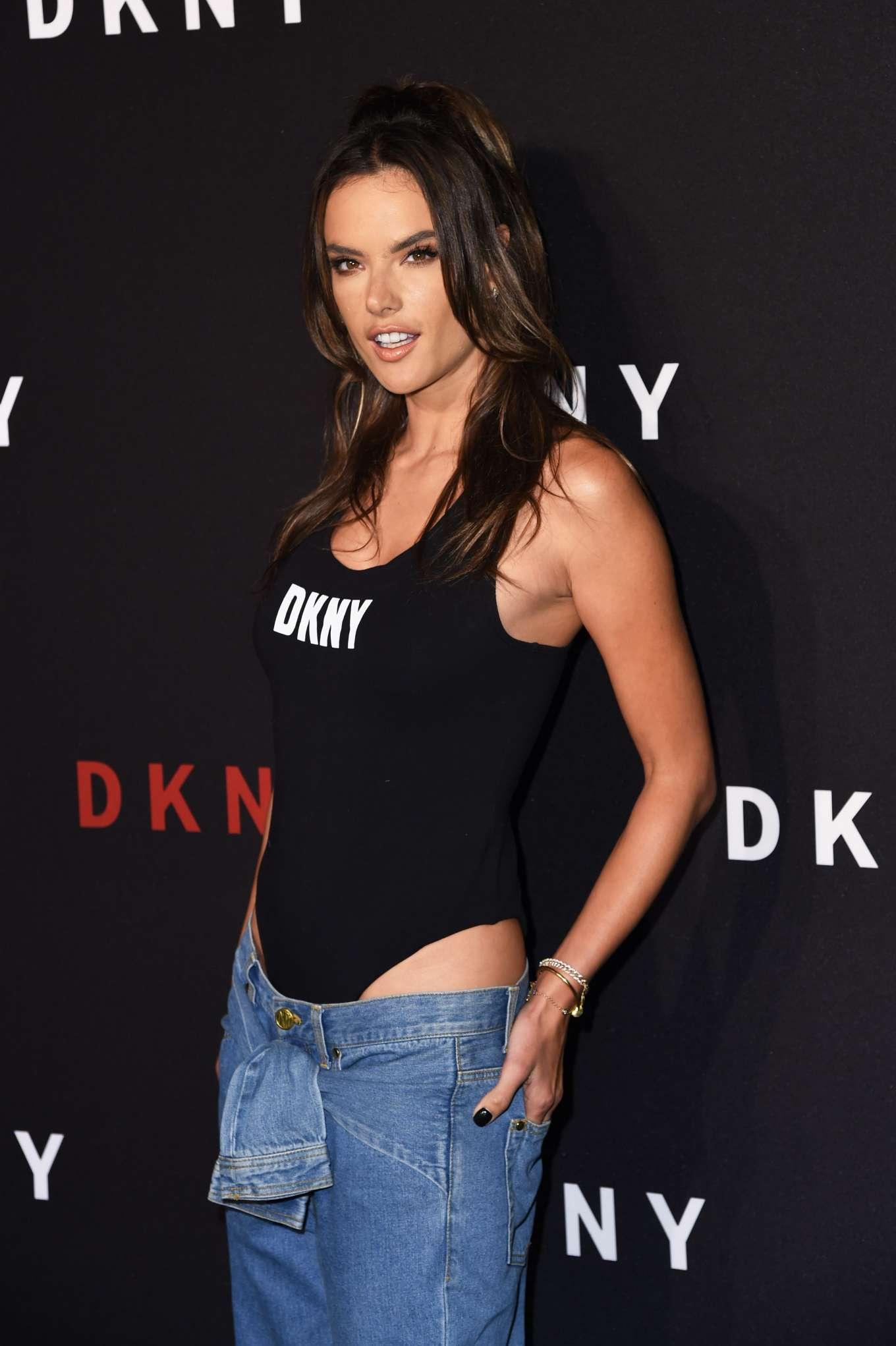 Alessandra Ambrosio - 30th anniversary of DKNY Party in NYC