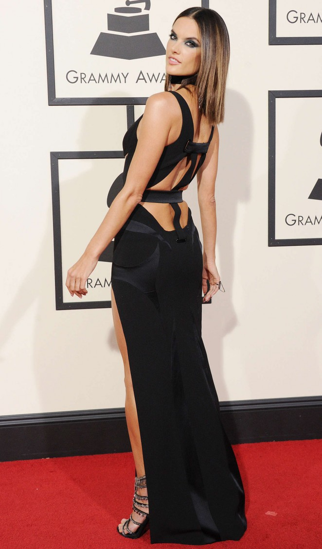 Alessandra Ambrosio: 2016 GRAMMY Awards -06