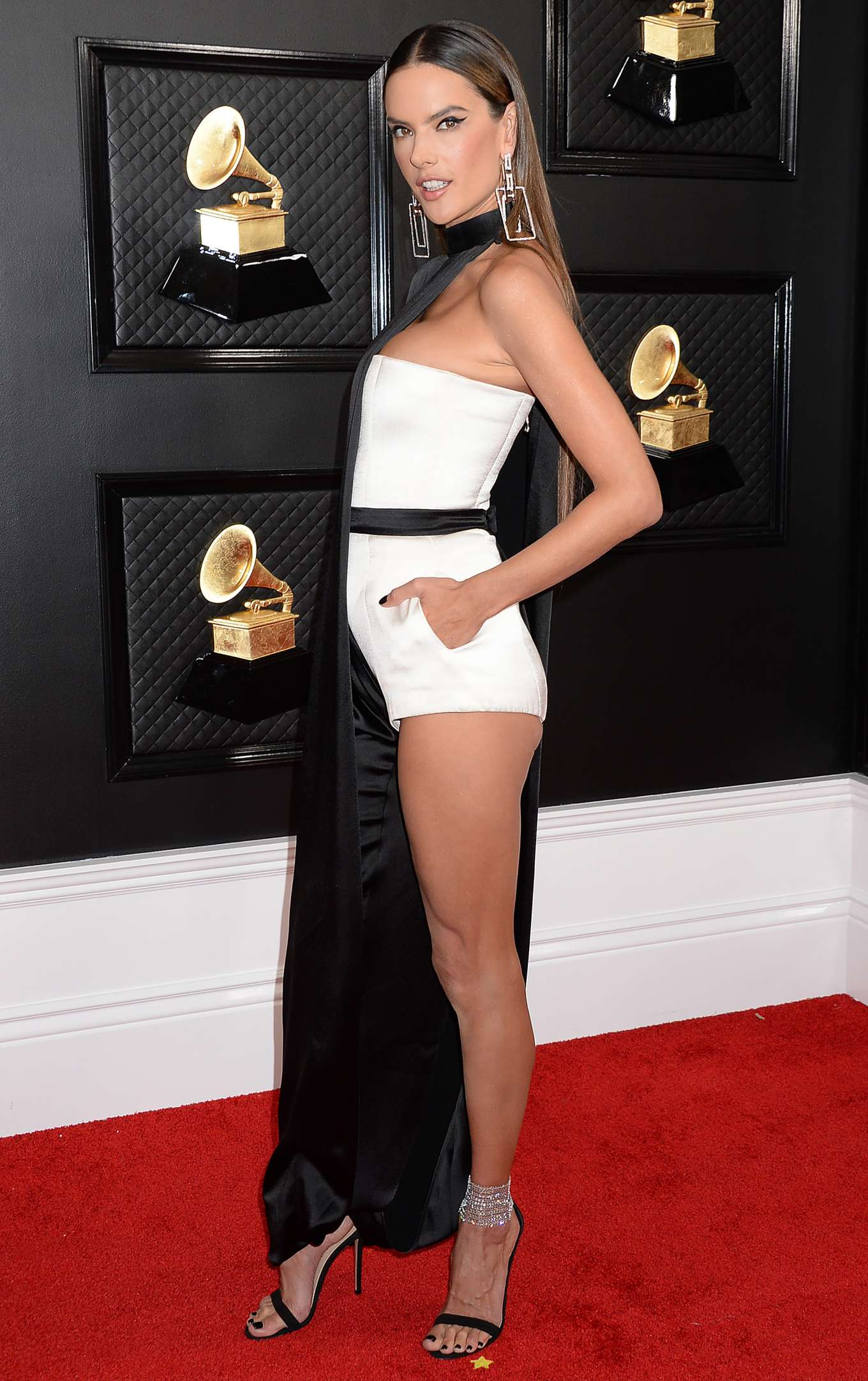 Alessandra Ambrosio - 62nd Annual Grammy Awards in Los Angeles