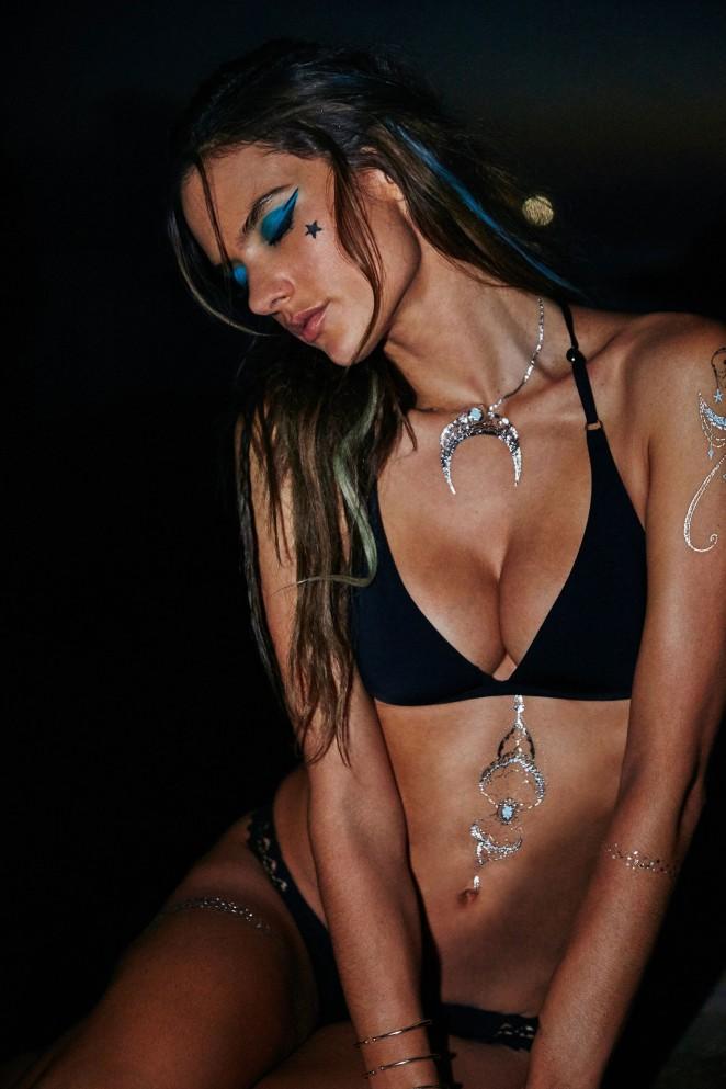 Alessandra Ambrosio - Ale By Alessandra Body Art 2016