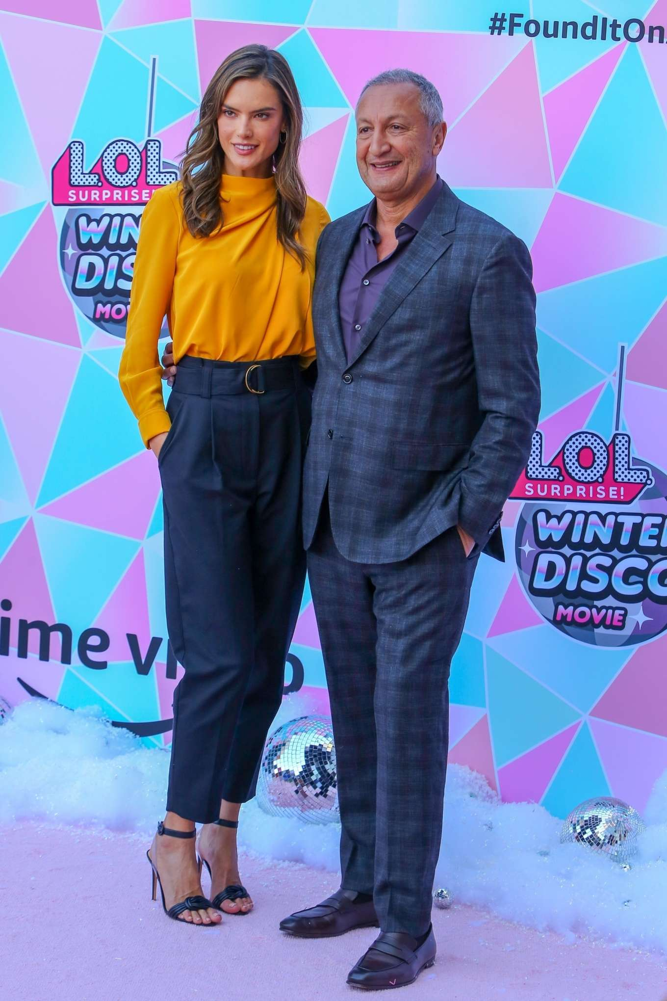 Alessandra Ambrosio 2019 : Alessandra Ambrosio – Amazons LOL Surprise Winter Disco movie-06