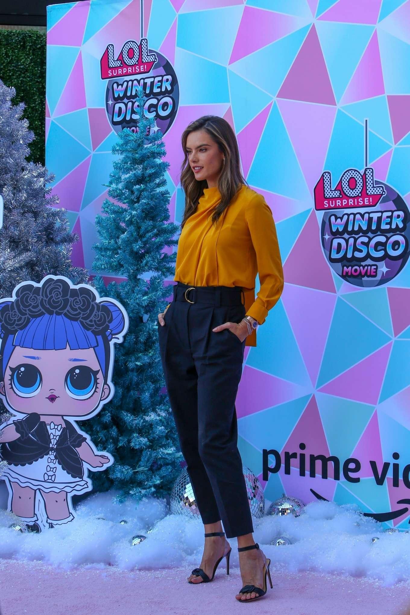 Alessandra Ambrosio 2019 : Alessandra Ambrosio – Amazons LOL Surprise Winter Disco movie-12
