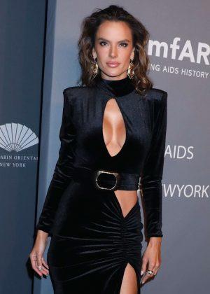 Alessandra Ambrosio - amfAR New York Gala 2019 in NYC