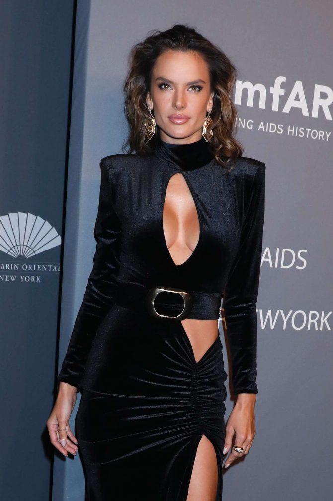 Alessandra Ambrosio – amfAR New York Gala 2019 in NYC
