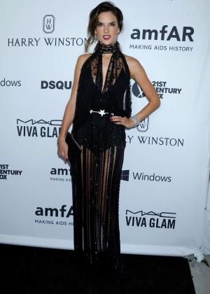 Alessandra Ambrosio - 2015 amfAR's Inspiration Gala Los Angeles in Hollywood